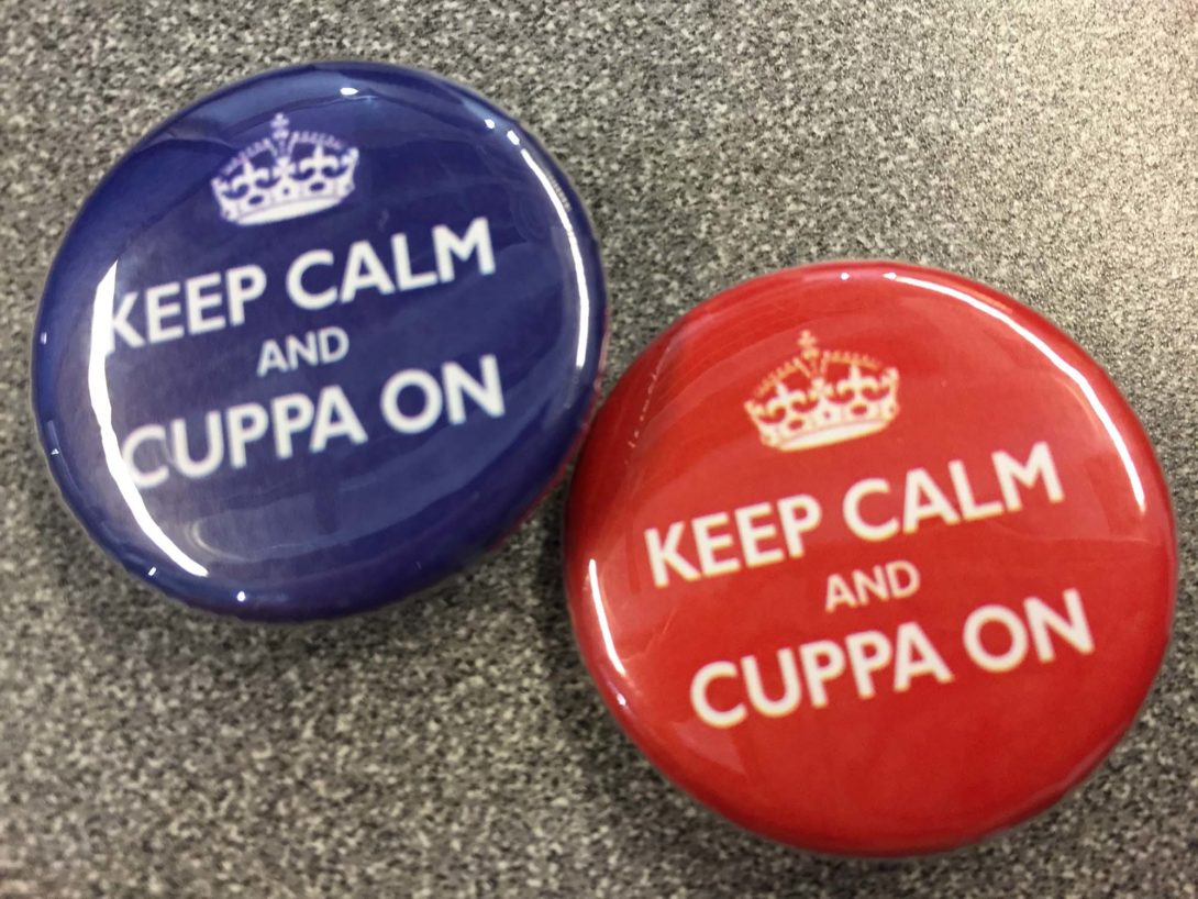 CUPPA Buttons