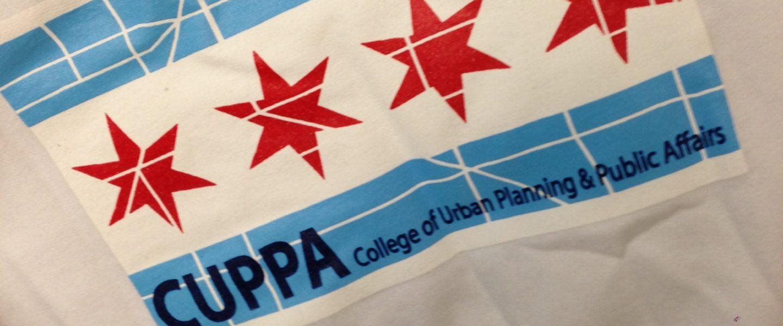 Sweatshirt that says CUPPA.