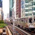 Chicago train image