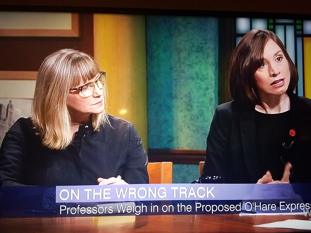 Janet Smith and Kate Lowe Speak on Chicago Tonight