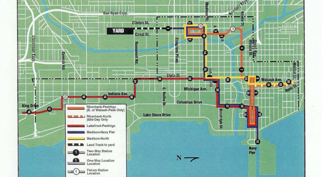 Circulator Routes and Stations