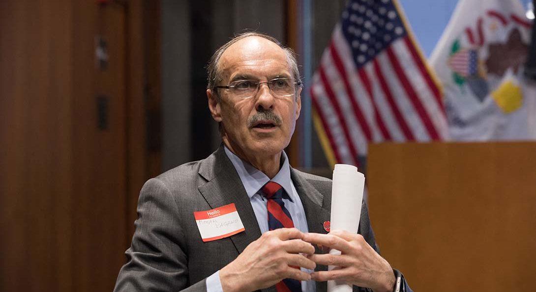 Michael A. Pagano, Dean