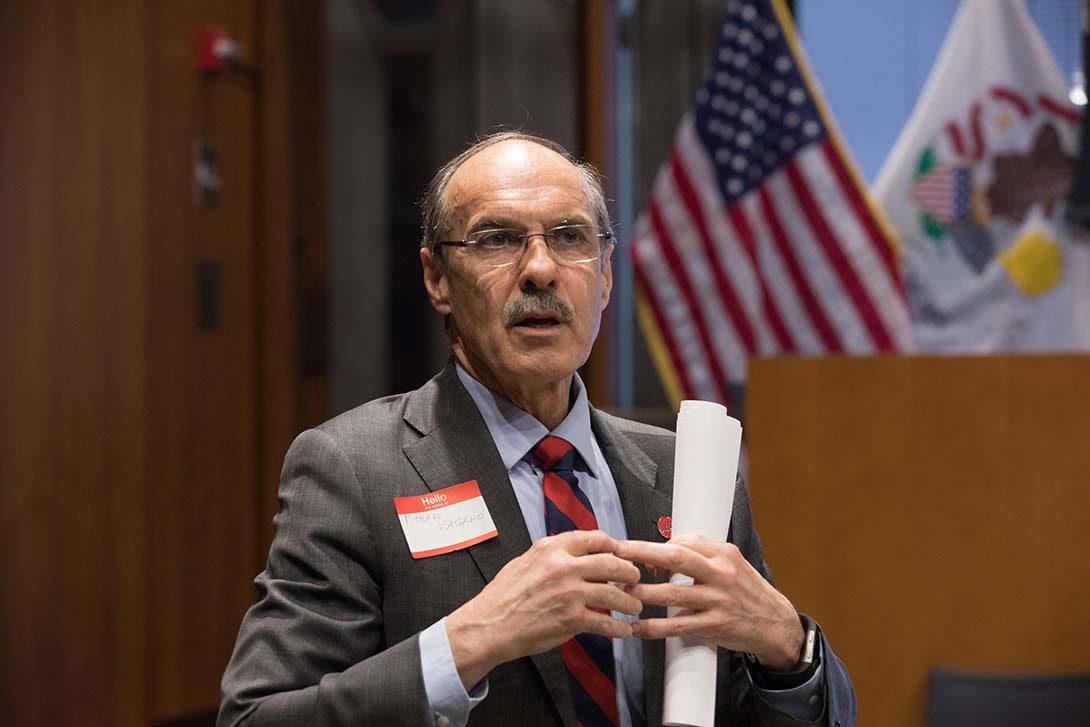 Michael A. Pagano, Dean 2007-2021