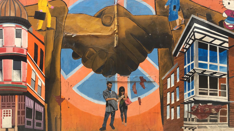 Joining Hands Mural in Pilsen
