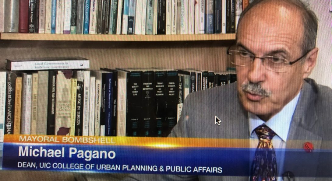 Screen shot of Dean Pagano on Channel 7 Chicago