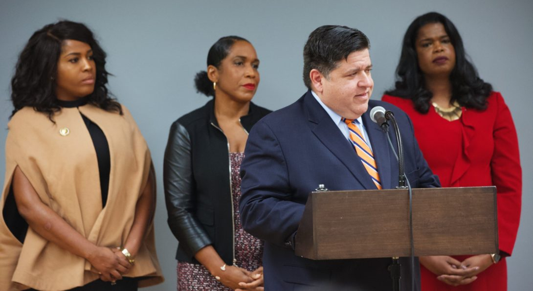 JB Pritzker And Committee Members