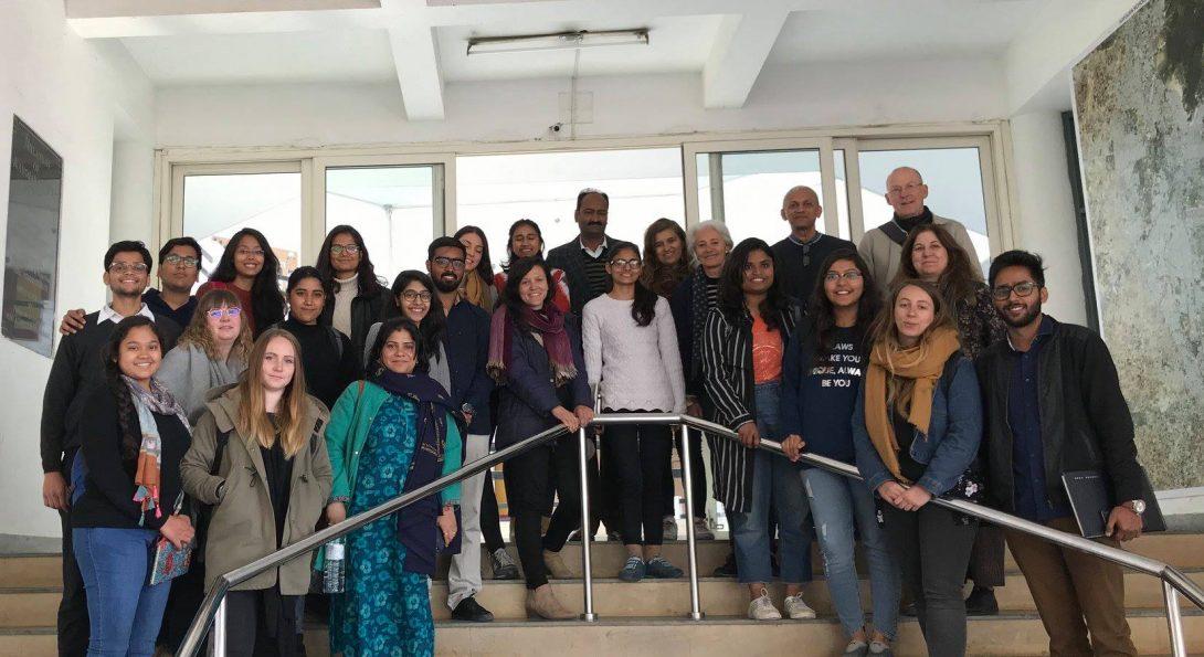 Students in Jaipur Workshop