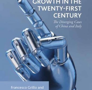 cover of book featuring robot hand