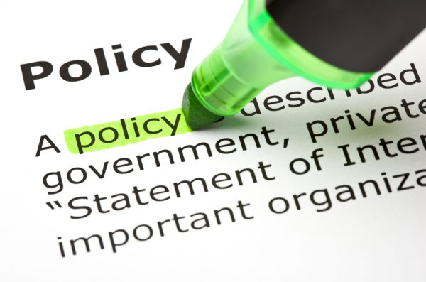 policy word definition