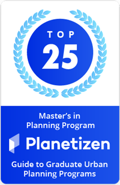 Top 25 Urban Planning Program Planetizen Badge