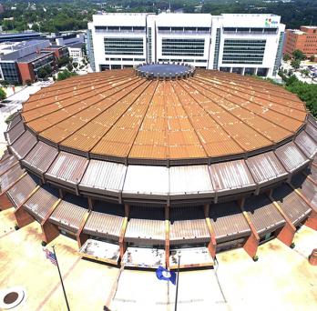 Richmond's Navy Hill Arena
