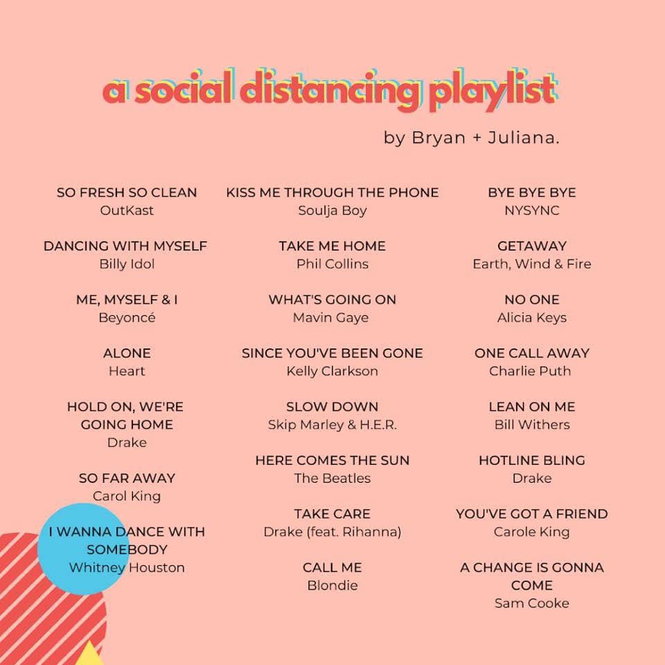 Social Distancing Playlist