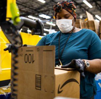 Amazon Warehouse Worker