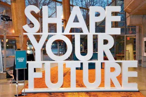 Shape Your Future, the cover.