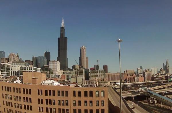 cuppa chicago skyline