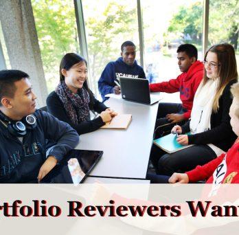 Portfolio reviewers image