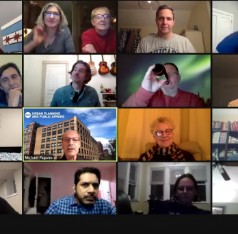 Attendees at the Virtual Alumni Appreciation Award event on January 29, 2021 via Zoom.