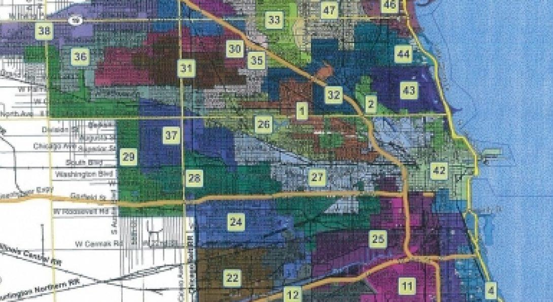 Chicago Ward Map