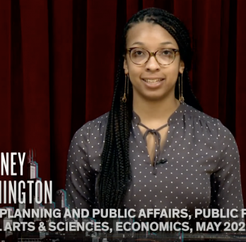 Courtney Washington, CUPPA Public Policy Major 2022